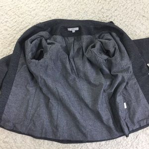 Anthropologie Jackets & Coats - Anthropologie Drew Distressed Cotton Blazer Gray S